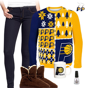 Indiana Pacers Sweater Outfit