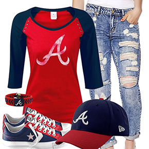Cute Atlanta Braves Outfit