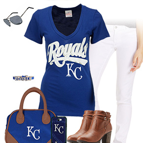 Kansas City Royals Tshirt Outfit
