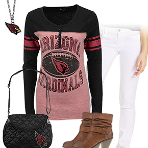 Cute Arizona Cardinals Kickoff Outfit