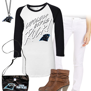 Cute Carolina Panthers Kickoff Outfit