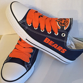 Chicago Bears Converse Sneakers