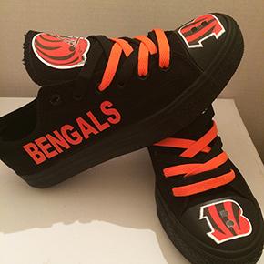Cincinnati Bengals Converse Sneakers