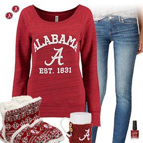 Cute Alabama Crimson Tide Outfit