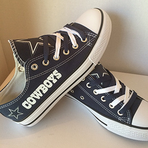 Dallas Cowboys Designed Sneakers 01edcde49