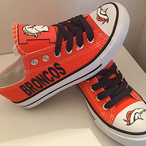 Denver Broncos Converse Shoes