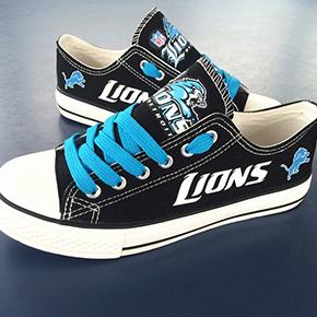 Detroit Lions Converse Sneakers