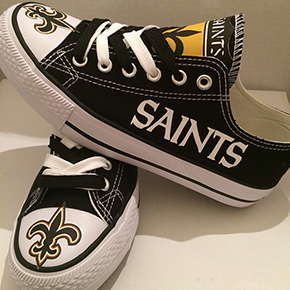 New Orleans Saints Converse Sneakers