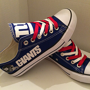 New York Giants Converse Sneakers