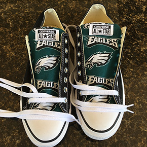 Philadelphia Eagles Converse Sneakers