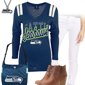 Cute Seattle Seahawks Kickoff Outfit