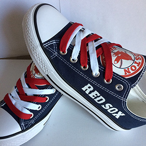 Boston Red Sox Converse Shoes