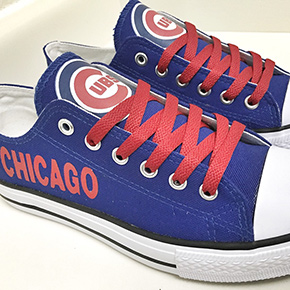 Chicago Cubs Converse Sneakers