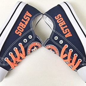 Houston Astros Converse Sneakers