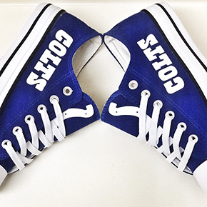 Indianapolis Colts Converse Shoes