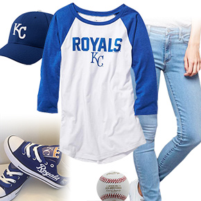 Kansas City Royals Baseball Tee