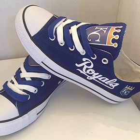 Kansas City Royals Converse Sneakers