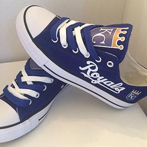 Kansas City Royals Converse Sneakers