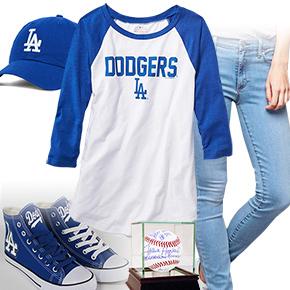 Los Angeles Dodgers Baseball Tee