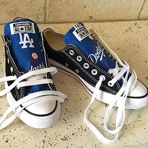 Los Angeles Dodgers Converse Sneakers