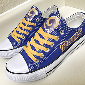 Los Angeles Rams Converse Sneakers