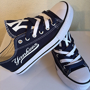 New York Yankees Converse Sneakers
