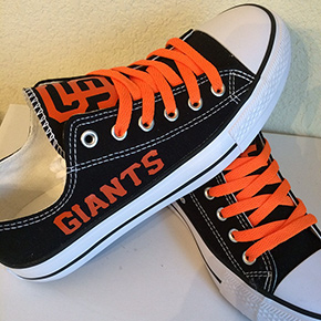 San Francisco Giants Converse Sneakers