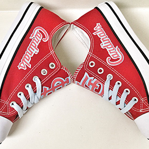 St. Louis Cardinals Converse Sneakers