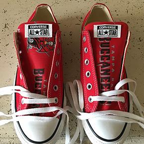Tampa Bay Buccaneers Converse Sneakers