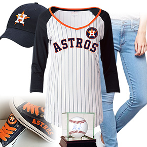Houston Astros Baseball Tee