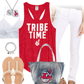 Cleveland Indians Tank Top Outfit
