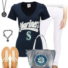 Seattle Mariners Tshirt Outfit