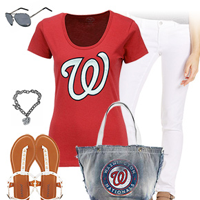 Washington Nationals Tshirt Outfit