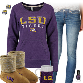 Cute LSU Tigers Outfit