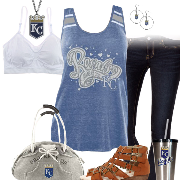 Kansas City Royals Tank Top Outfit