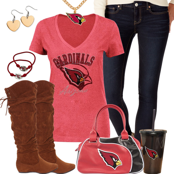 Cute Arizona Cardinals Fan Outfit