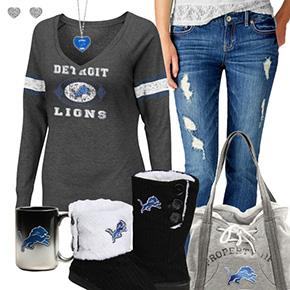 Cute Lions Fan Outfit