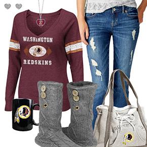 Cute Redskins Sweatshirt
