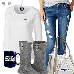 Cute Seahawks Fan Outfit
