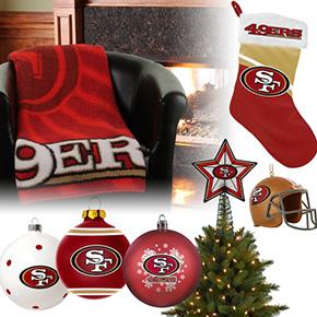 San Francisco 49ers Christmas Ornaments
