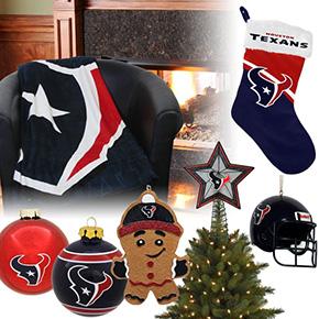 Houston Texans Christmas Ornaments