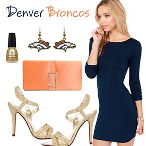 Denver Broncos Inspired Date Look