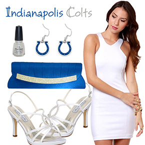 Indianapolis Colts Inspired Date Look