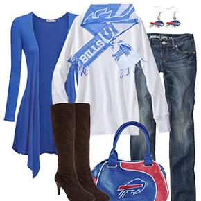 Buffalo Bills Inspired Fall Fashion