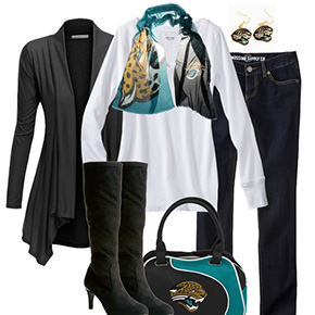Jacksonville Jaguars Inspired Fall Fashion