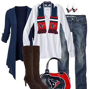 Houston Texans Inspired Fall Fashion