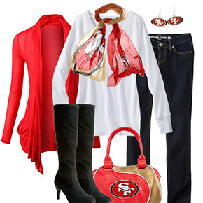 San Francisco 49ers Inspired Fall Fashion