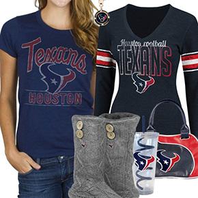 Cute Texans Fan Gear
