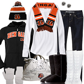 Cincinnati Bengals Inspired Winter Fashion