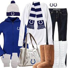 Indianapolis Colts Inspired Winter Fashion
